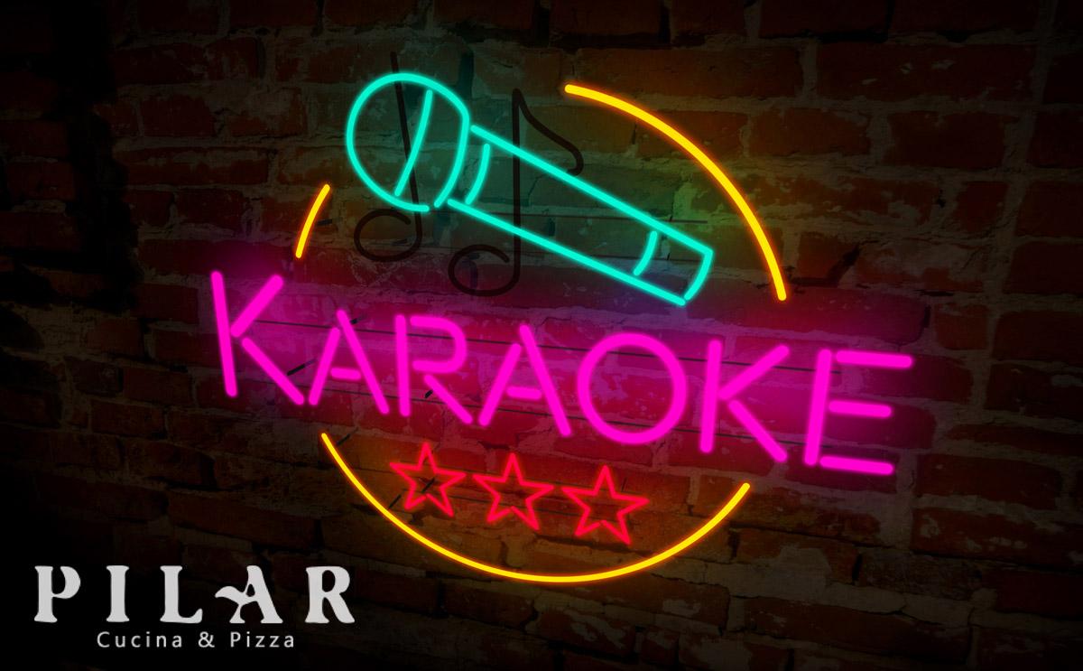 Karaoke al Ristorante Pilar