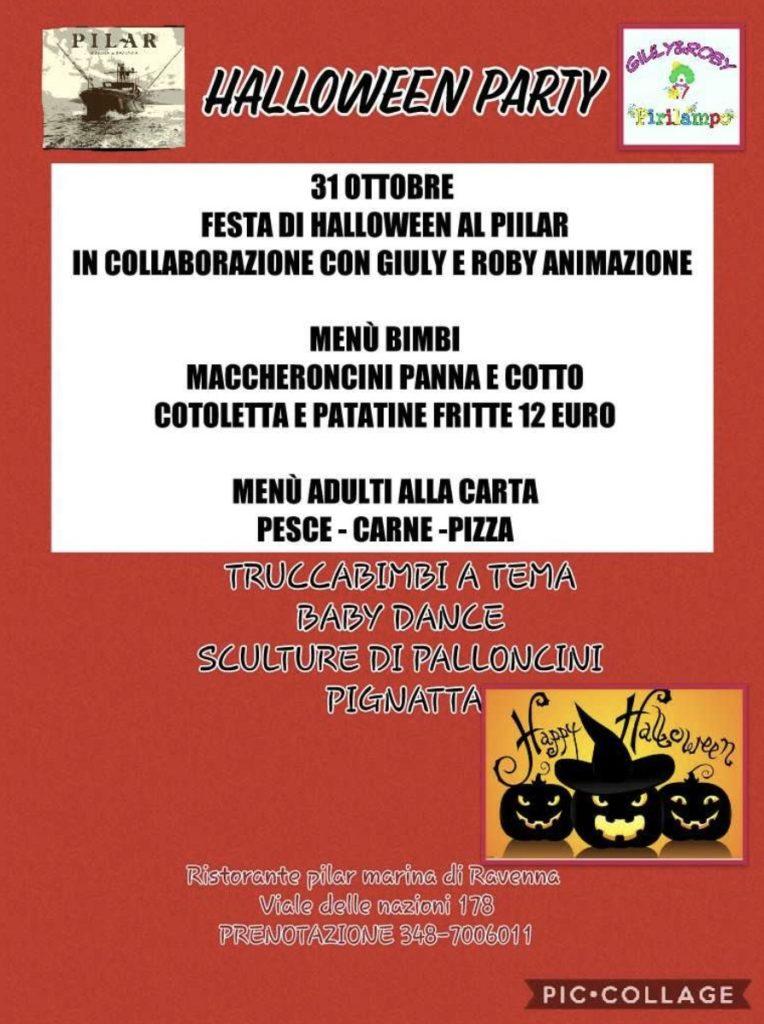 Halloween al Pilar! | Ristorante Pilar